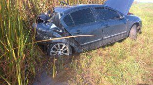 Un herido en la ruta 12 por violento accidente de tránsito