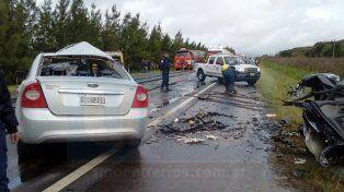 Tragedia en la ruta 26: Cinco fallecido en un choque, entre ellos tres niños