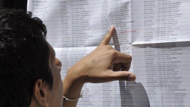 ¿Dónde voto? Ya se puede consultar el padrón electoral provisorio