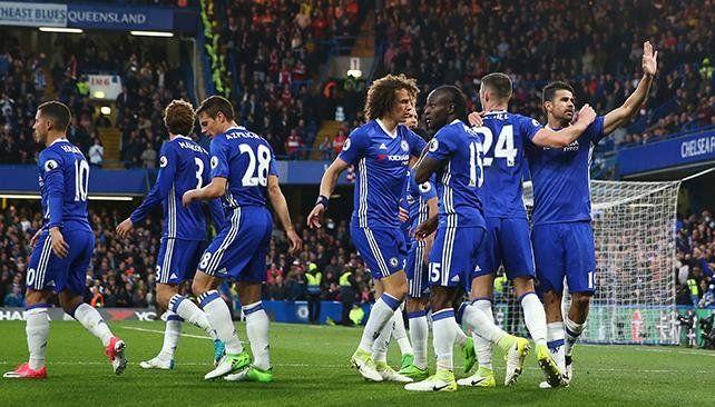 Chelsea goleó y quedó a un paso del título