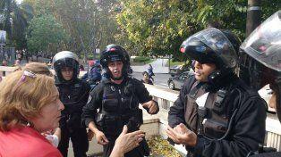 Cuatro policías de la Brigada Motorizada irrumpieron en el Museo de la Memoria