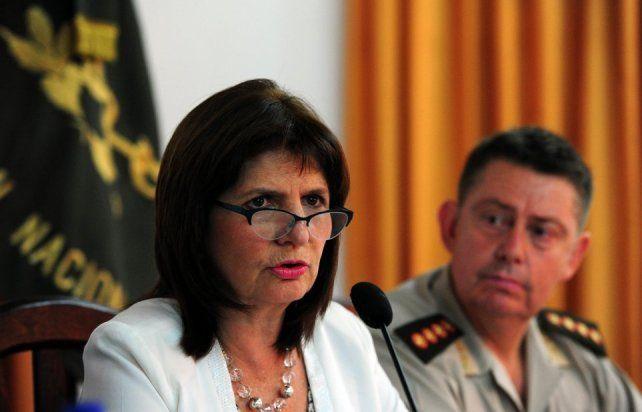 La ministra Bullrich llega a Concordia que busca una salida al espiral de violencia