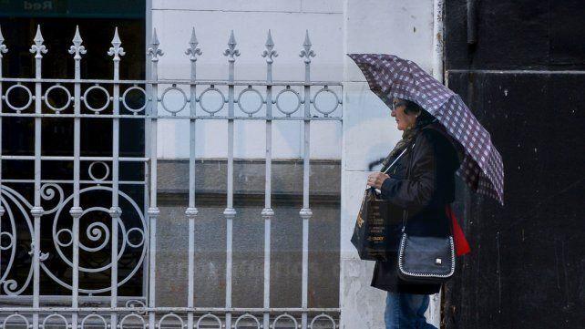 Mal tiempo. En Paraná la lluvia caída ayer fue de 45 milímetros.