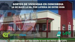 La semana que viene sortearán las 320 viviendas para Concordia del IAPV
