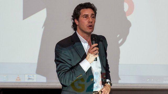 Juan Diego Etchevehere es funcionario del gobierno nacional en el área de comunicaciones y empresario agropecuario.