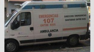 De La Rosa denunció que algunos trabajadores del 107 rompieron con intención las ambulancias