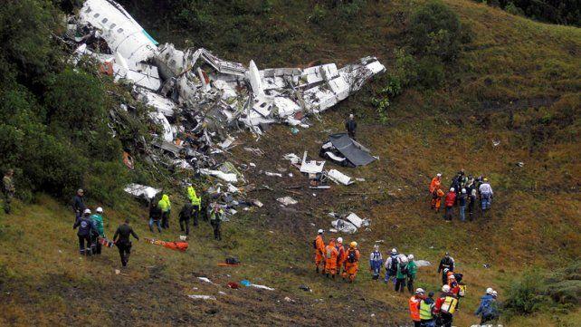 Colombianos devolverán objetos robados a Chapecoense tras la tragedia