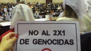 Madres y abuelas estuvieron en el Parlamento argentino. Foto Hijos.