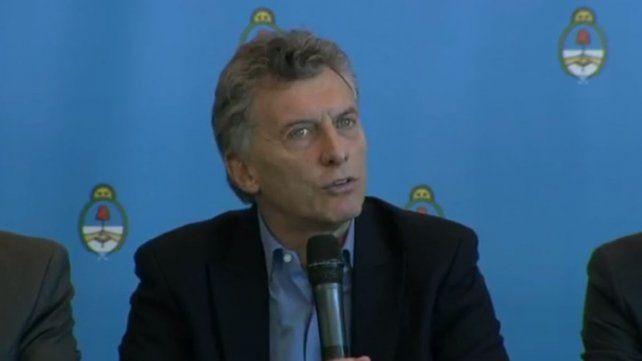 Macri: Siempre estuve en contra de cualquier herramienta que sea a favor de la impunidad