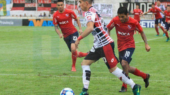 El Gordo Comas tiene pocos minutos como titular en el equipo paranaense.