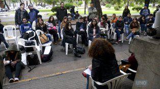 Clase abierta. FotoUNOMateo Oviedo.