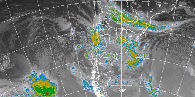 Rige una alerta meteorológica para Entre Ríos