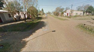 La vivienda allanada se encuentra en calle Perón y San Jorge de la ciudad de Federal.