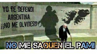 Advierten que el PAMI abandona y no cubre a Veteranos de Guerra