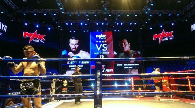 De nivel. Los combates en Tailandia tuvieron un altísimo nivel de competencia