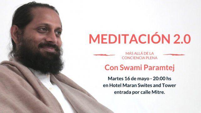 Paraná: Meditación 2.0 con Swami Paramtej