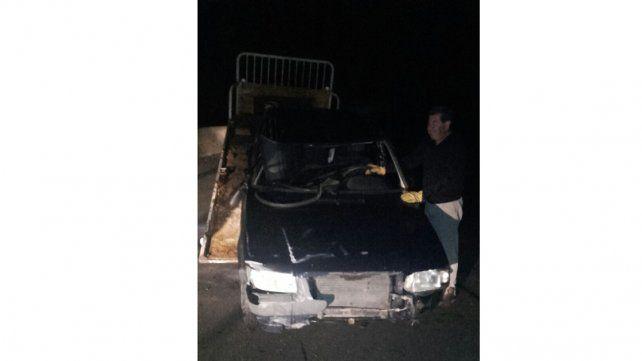 Tres personas resultaron heridas tras volcar un auto en la ruta nacional 18