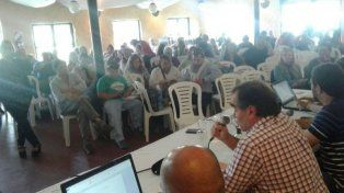 Este lunes sesiona el Congreso de Agmer en Colón