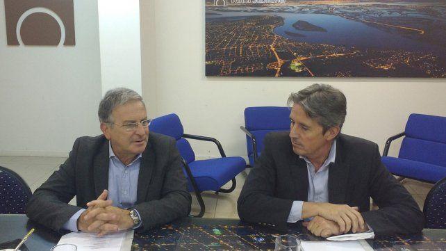 Innovación. Benedetto mantuvo un encuentro con Garibay.