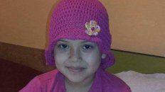 antonella recibira una nueva medula tras su larga lucha contra la leucemia