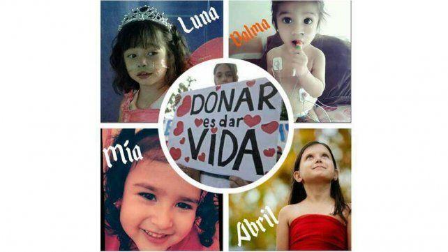 En Emergencia Nacional: Cuatro niñas necesitan urgente un corazón