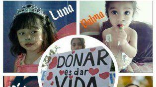 Cuatro niñas de corta edad esperan trasplantes de corazón