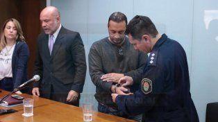 Al penal. El policía condenado fue derivo de inmediato a la cárcel de Paraná.