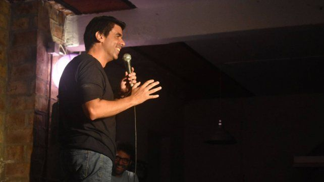 Comediante. Lisandro Riera se presentará el jueves.