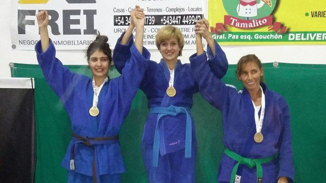 Jessie Anderson fue campeona en la categoría Senior -57