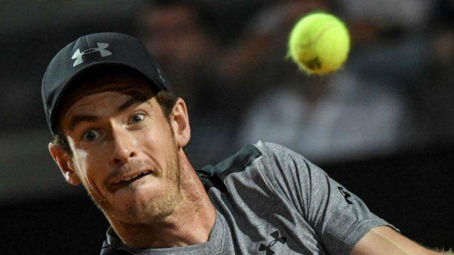 Murray quedó eliminado y no defenderá la corona en Roma