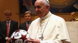 El Papa lamentó los episodios de violencia en el fútbol