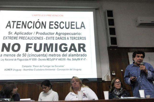Amenazaron a docente entrerriana que denunció fumigaciones en escuelas rurales