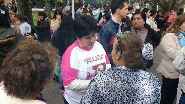 Vecinos se movilizaron en apoyo a la familia
