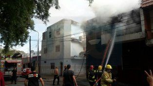 Sofocaron un incendio en la casa de un funcionario municipal