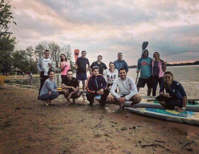 El team SUP Paraná es el campeón del litoral.