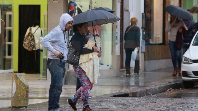 Alerta por abundantes precipitaciones en el sur y centro de Entre Ríos