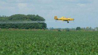 El avión que fumiga. Foto Ilustrativa.