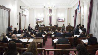 Sesión. Todos los proyectos fueron votados por unanimidad.