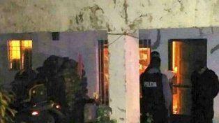 La casa donde ocurrió la tragedia