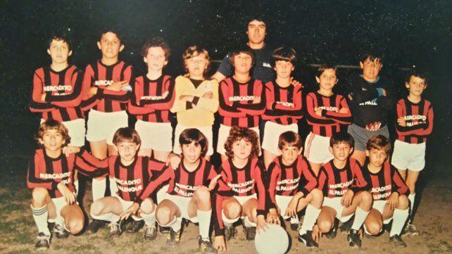 Sus raíces. Bruno integró la categoría 1975. De izquierda a derecha