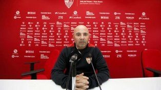Jorge Sampaoli dirigirá este sábado su último partido en Sevilla y ya está listo para asumir en la Selección.