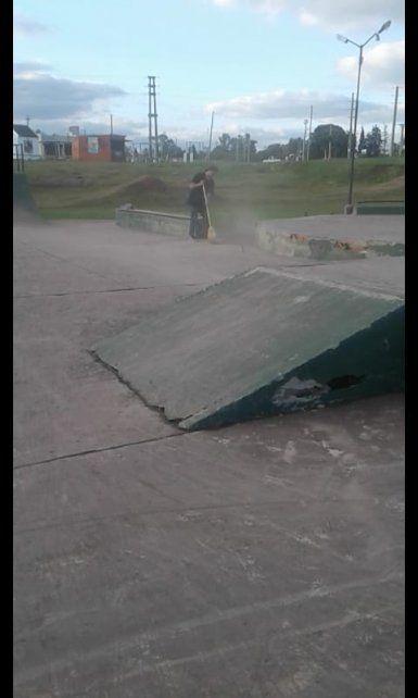 El bikepark de Villaguay necesita arreglos urgentes