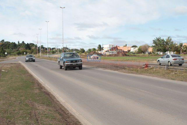 La ruta carece de cartelería. Foto UNO Juan Ignacio Pereira.