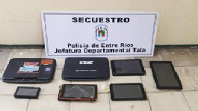 Mano larga. Un uruguayo fue vinculado a los robos en Tala.