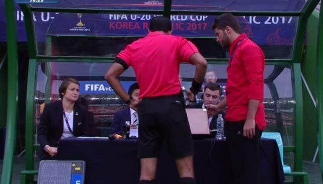 La polémica expulsión de Lautaro Martínez en el Mundial Sub 20