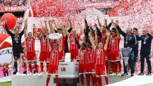 Bayern Munich gritó campeón y le dijo adiós a Lahm y Alonso