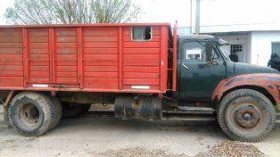 Recuperaron un camión robado