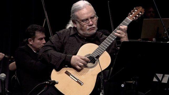 El gran guitarrista Eduardo Isaac ofreció un concierto gratuito en Capital Federal