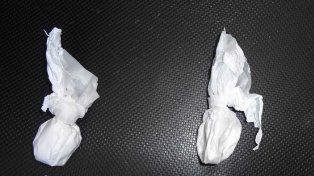 Bolsitas de cocaína. Foto ilustrativa. Internet.