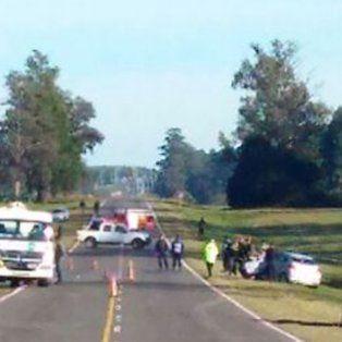 Un herido en un choque entre un auto y un camión de combustible